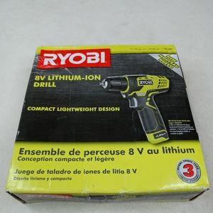 RYOBI 8-Volt Lithium-Ion Cordless 3/8 in. Drill/Dr